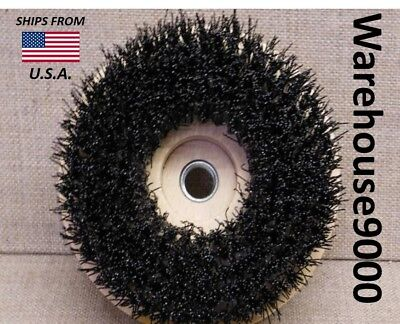 Round Brush carpet clean stain pets remove gum detailer dealership Floors Tile
