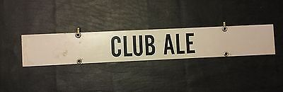 On Draft Today Club Ale  Beer Hanger
