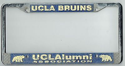 los angeles california ucla bruins alumniassociation vintage license plate frame