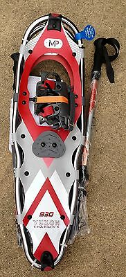 Yukon Charlies 930 Advanced Series Snowshoe & Poles New