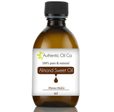 Almond Sweet Carrier Oil Base Skin Care Cold Pressed For Massage Aromatherapy UK