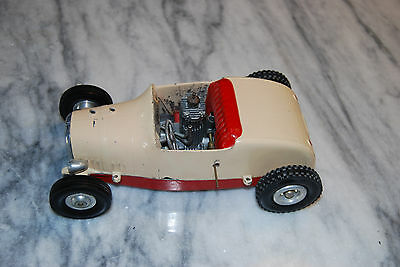 All American Ford Hot Rod Tether Car Racer SCTA Gas Powered 1950's Estate Find