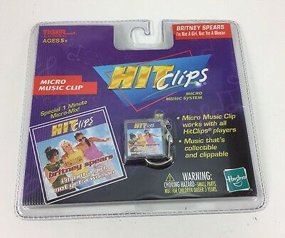 Tiger Hit Clips Micro Music Britney Spears I'm Not A Girl, Not Yet A Woman