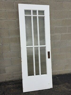 Cm 216 Antique Single French Door 29 And Three-Quarter By 82 1/2