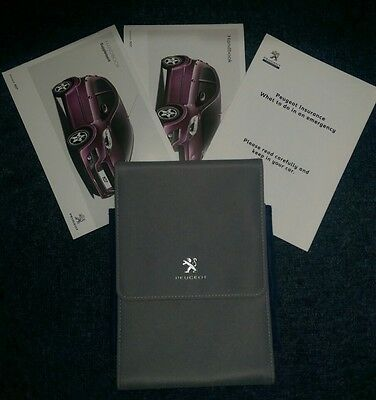 Peugeot 107 Owners Manuals & Handbook Pack And Wallet   2012 - 2014