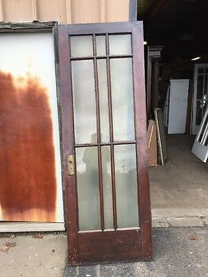 Cm 217 Antique Birch Craftsman French Door