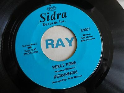 RONNIE AND ROBYN...SIDRAS THEME. 70's Release....NORTHERN SOUL, WIGAN CASINO