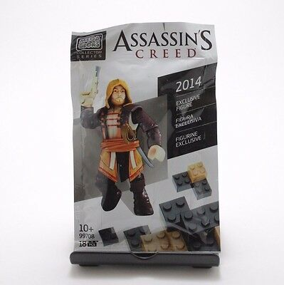 Assassin's Creed 2014 Exclusive Rare Figure 99708 Mega Bloks
