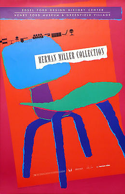 Herman Miller Collection-____Poster 1989 Henery Ford Museum & Greenfield Village