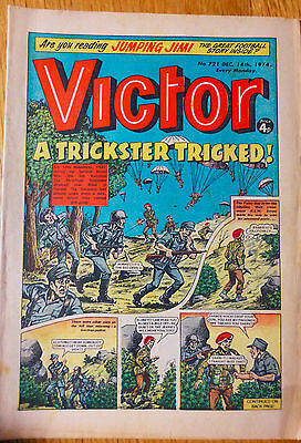 The Victor (UK Comic) - Issue #721 (14th December 1974)