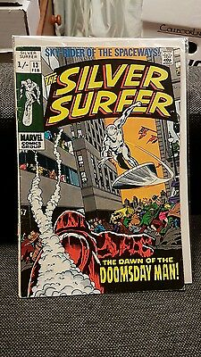 Silver Surfer 13 The Dawn of the Doomsday man