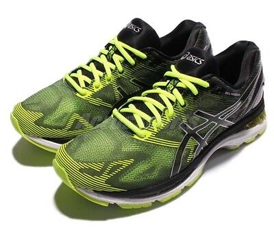 Asics Gel-Nimbus 19 Mens Neutral Running Shoes/Trainers, Size 8.5UK, Yellow, NEW