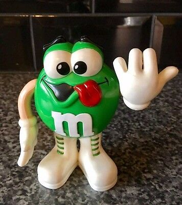 Very Rare Vintage M&M's Protruding Sticking Out Tongue Candy Sweets Dispenser