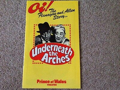 Theatre Programme - Underneath the Arches