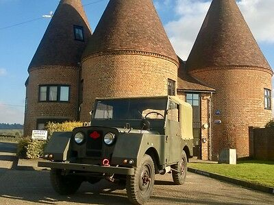 1954 Series 1 One 80 Land Rover Military Minerva Excellent Chassis and Bulkhead