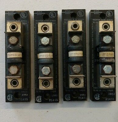 Fuse Block with Fuses