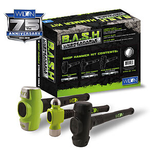 Wilton 11112 3 Piece Shop Bash Hammer Set