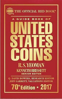 New 2017 Whitman United States Red Coin Price Guide Book Hardcover 70th Edition