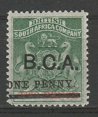 British Central Africa 1895 Arms One Penny On 2D