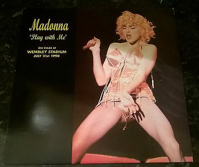 Madonna Play with Me Vinyl Record