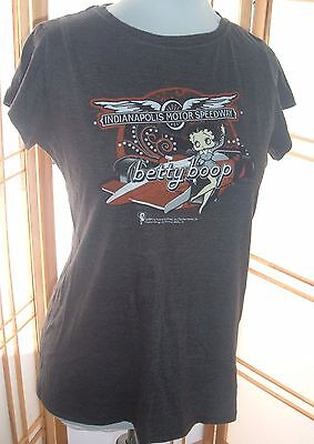 Indianapolis Motor Speedway BETTY BOOP T SHIRT 2009 Brickyard Authentics