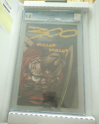 300 #3 - CGC 9.8 - NM-MT White Pages 1998 FRANK MILLER