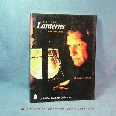 Excellent Vintage Book Classic Lanterns with Value Guide ** FREE SHIPPING **