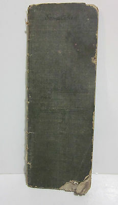 1907-08 Personal and Business Ledger, worm-eaten, pencil debits and credits