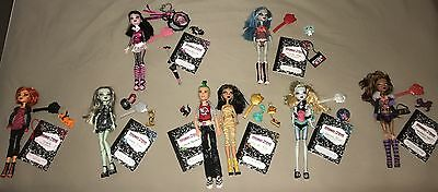 Monster High Dolls - Original dolls - All accessories are included