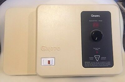 Gendex GX770 dental X-ray controller