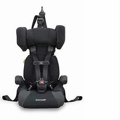 Safeguard Go Hybrid Black 5 point Booster Car Seat 22 up to 100lbs FREE SHIP