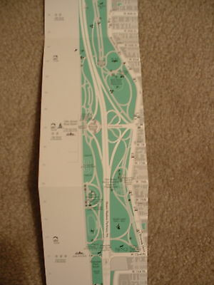 Map of Riverside Park 2002 New York City 67th to 156th Streets