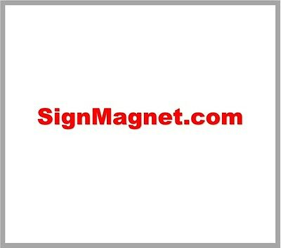 SignMagnet com ~ Premium Domain Name ~ BRANDABLE Sticker Sign Company  Product