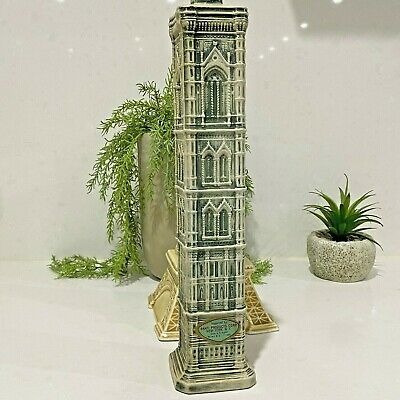 Lovely Rare Large Vintage GIOTTO STEEPLE Decanter - Florence Italy