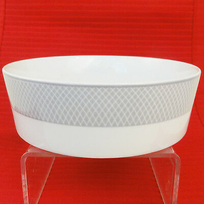 "GREY DAWN Plain Block FRUIT SAUCER 6.25"" diameter NEW NEVER USED made Portugal"