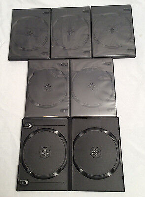 6- New 2 disc dvd cases... Free Shipping