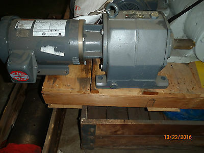US Motors Gear Reducer Series 2000 1HP 45:1 Ratio  With 1 HP Motor 1145 RPM