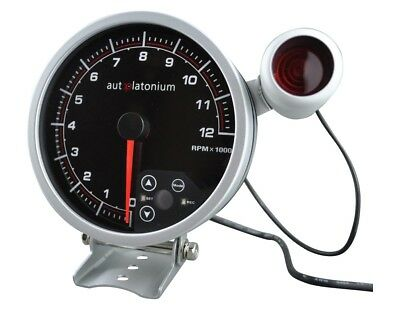 "High Quality 5"" Monster Stepper Motor Tacho Tachometer - LED BACKLIT auto gauge"