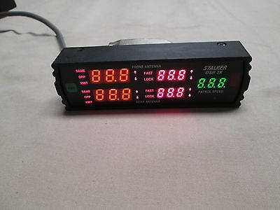 Stalker Police Radar Dsr X2 Display Face With  Serial Cable....gauranteed!