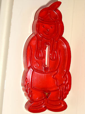 Vintage Indian Detailed Red Cookie Cutter