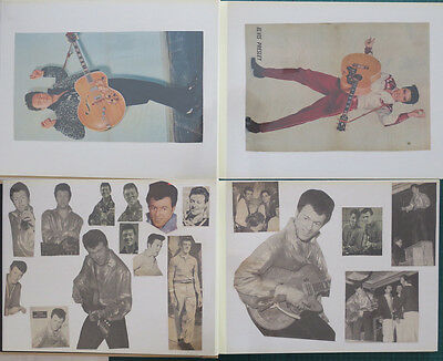 COL JOYE Jerry Lee Lewis Roy Orbison Elvis Scrapbook Newspaper/Magazine Cuttings