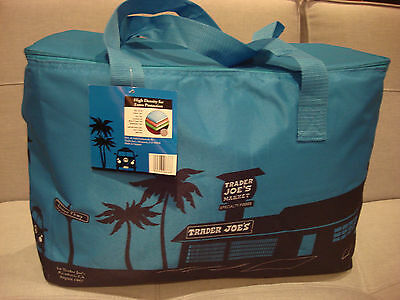 Trader Joe's Large Insulated Tote Reusable Grocery Bag - Brand New