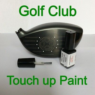 Golf Club Touch up paint 4ml, TaylorMade R15 Series WHITE