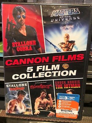 Cobra, Master Of The Universe, Over The Top, Bloodsport, Chuck Norris Hitman NEW