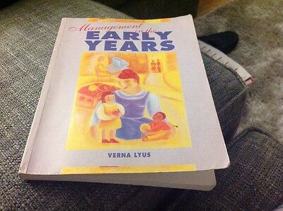 Management In The Early Years By Verna Lyus