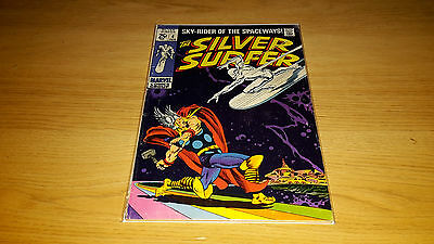 Silver Surfer #4 - Marvel Comics - February 1969 - 1st Print - Thor Cover