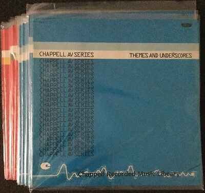 Chappell Library Record Lps x20 Mint Unplayed