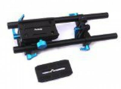Fotasy BPR Rail Movie Making System 15mm Rod Rig Base Plate with Quick Release
