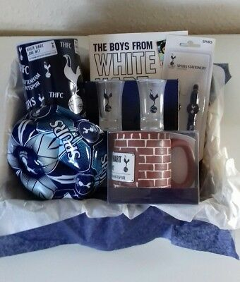 Mens/boys tottenham Hotspurs football hamper gift basket