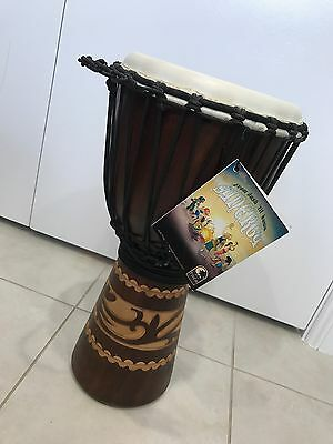 """TOCA 10"""" SYNERGY CRVD DJMBE KALIMAN Percussion Drum"""